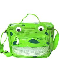 Vinyl Frog Lunch Bag