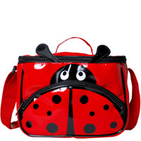 Vinyl Ladybug Lunch Bag