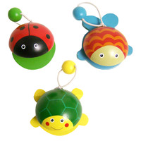 Ladybug, Fish and Frog Castanets
