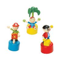 Push Toy Pirates