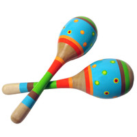 Bright Stripe Maracas