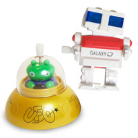 Robot Vs. Alien Wind-Up Toys