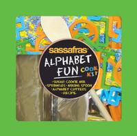 Kid's Alphabet Fun Cookies Tray Kit