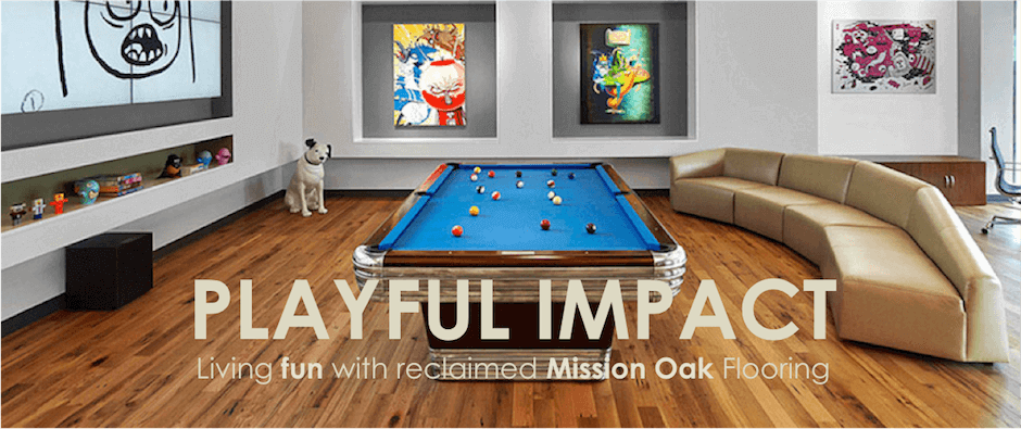 Reclaimed Mission Oak Flooring