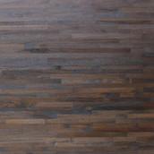 Reclaimed Teak Metro Flooring & Paneling - Wire Dark