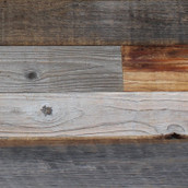 Reclaimed Weathered LC Redwood Paneling - Unfinished