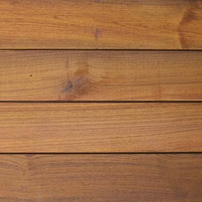Reclaimed Teak Decking - Sansin Exterior Finish (Tinted Stain)