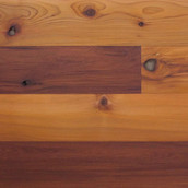 Reclaimed Western Red Cedar Paneling - Clear Oil