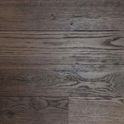 Reclaimed Mission Oak Flooring & Paneling - Leather