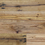 Reclaimed Mission Oak White/Red Solid Flooring & Paneling