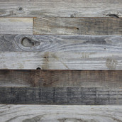 """Reclaimed Weathered LC Redwood Paneling 3"""""""