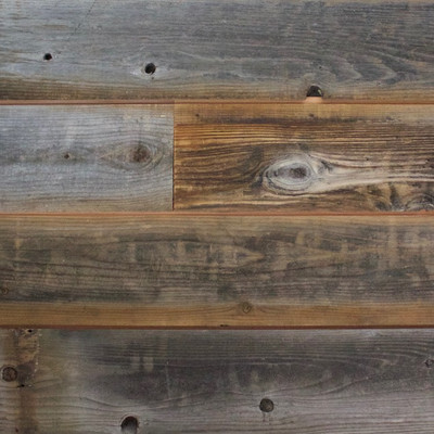 Reclaimed Weathered Lost Coast Redwood Siding Sample