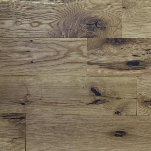 Reclaimed Mission Oak White Shorties Engineered Flooring