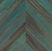 Lost Coast Redwood Weathered Paneling - Chevron - Copper Patina (Sample)