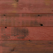 Reclaimed Lost Coast Redwood Siding - Burnished Red