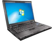 Lenovo ThinkPad T400 Webcam - 2.40GHz Intel Core 2 Duo - 4GB DDR3 RAM - 160GB HD - DVD+CDRW