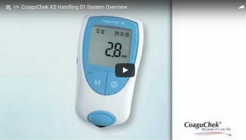 CoaguChek XS Handling 01 System Overview