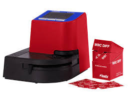 HEMOCUE W1PROMO WBC TEST ANALYZER WITH MICROCUVETTES HEMOCUE MACHINE 120623 W11217