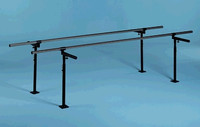 HAUSMANN 1340 FLOOR MOUNTED PARALLEL BARS