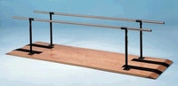 HAUSMANN 1300 PLATFORM MOUNTED PARALLEL BARS