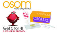 SEKISUI OSOM 1006 ULTRA FLU TEST PROMO GET 5 KITS FOR THE PRICE OF 4