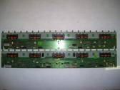 TOSHIBA 52RV535U INVERTER BOARD SET SSI520A_20A01 / LJ97-01810A & LJ97-01881A