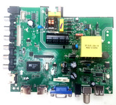PROSCAN PLDED3996A-E MAIN BOARD / POWER SUPPLY ZP.VST.3393.A / 3393A1602