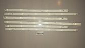 HITACHI LE55A6R9A LED LIGHT STRIPS SET OF 3 LB55055