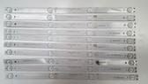 AVERA 50EQX10 LED LIGHT STRIPS SET OF 10 LGL50104-3030JF-BHK6-100