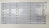 VIZIO E55-C1 LED LIGHT STRIP SET OF 14 LB55034 V0_06