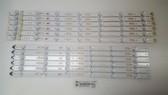 """SAMSUNG 50"""" LED LIGHT STRIPS SET OF 6 BN96-39657A & BN96-39658A"""