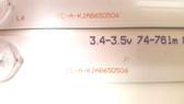 RCA LED65G55R120Q LED Light Strips complete set IC-A-KJAB65D506