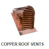copper roof vent selections at weathervane and cupola shoppe