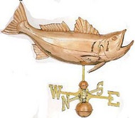 Weathervane - Polished - Jumping Bass