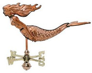 Weathervane - Polished - 3-D Mermaid
