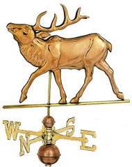Weathervane - Polished - Elk