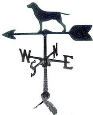 Weathervane: 24in. Retriever Dog With Mount