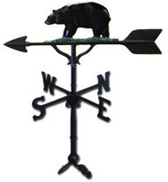 Weathervane: 32in. Bear With Mount