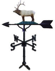 Weathervane: 32in. Elk With Mount