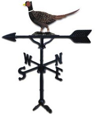 Weathervane: 32in. Pheasant With Mount