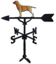 Weathervane: 32in. Retriever Dog With Mount