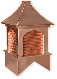Cupola - Dalton - Copper - 36Lx36Wx69H