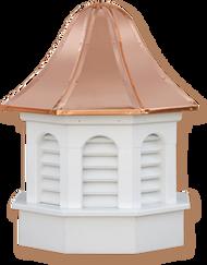 Cupola - Azek Pinnacle - Gazebo - 30Lx30Wx59H