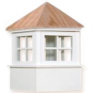 Cupola - Ellsworth: Azek - Wood Top - 72Lx72Wx102H