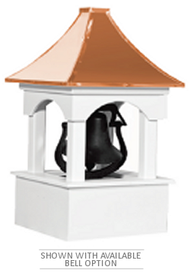 Cupola - Bell Tower - Vinyl -18Sq. x 34H