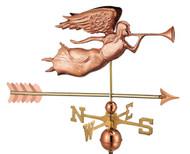 Angel with Arrow Weathervane