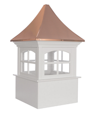 Good Directions Westport Vinyl Cupola 48in. square x 79in. high