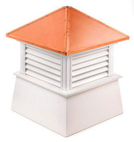 Good Directions Vinyl Manchester Cupola - 72in. square x 93in. high
