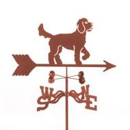 Dog-Golden Doodle Weathervane with mount