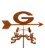 """Georgia """"G"""" Bulldogs Logo Weathervane with mount"""